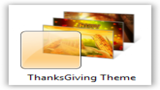 Windows 7 Themes : Thanksgiving Theme for Windows [Holiday Themes]