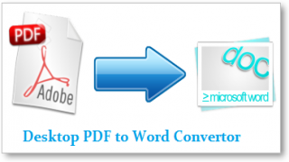 Easily Convert Any PDF File to Word Format Right From Your Desktop [Freeware]