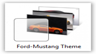 Windows 7 Themes : Ford Mustang Theme for Windows [Car Themes]