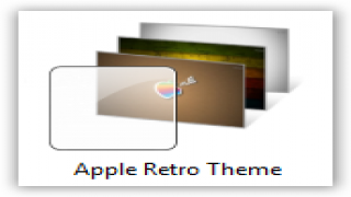 Apple Retro Theme For Windows 7 and Windows 8 [Exclusive Theme]