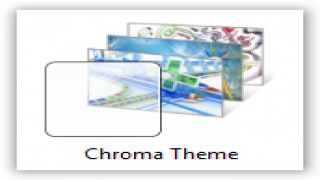 Chroma Theme For Windows 7 and Windows 8 [Exclusive Abstract Theme]