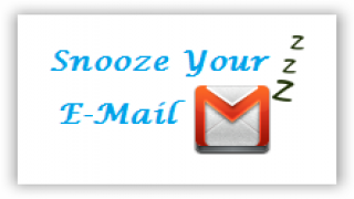 Create To-Do Alerts and Alarms from your e-mails with Snooze Your E-mail [Chrome extensions]