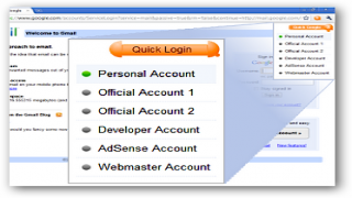 Enable Quick Login For Multiple Google Accounts [Chrome Extensions]