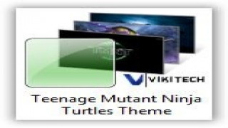 Teenage Mutant Ninja Turtles Theme for Windows 7 and Windows 8 [Cartoon Themes]