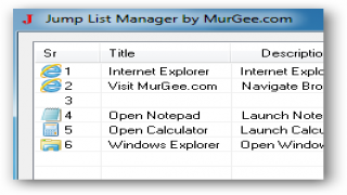 Take Control of your Window 7 Jumplists with Jump List Manager