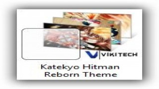 Windows 7 Themes: Katekyo Hitman Reborn Theme for Windows [Anime Themes]