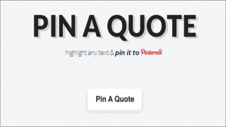 No Pictures to Pin on Pinterest? Start Pinning Quotes With This Free Service