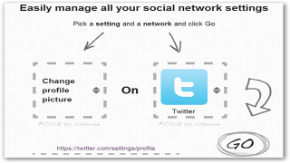 Manage Profile Settings Across Multiple Social Networks From Single Location With Bliss Control