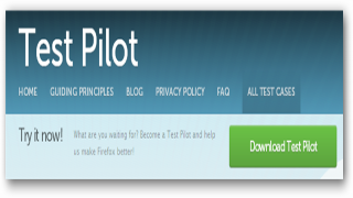 Help Make Mozilla Better With Test Pilot
