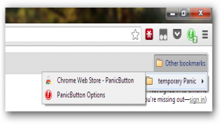 PanicButton for Chrome Hides What You're Up to Online Instantly