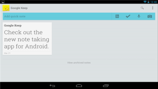 Get Started With Google Keep for Android, the New Note-Taking App from Google