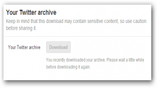 Backup Your Twitter Archive By Downloading It to Your Computer