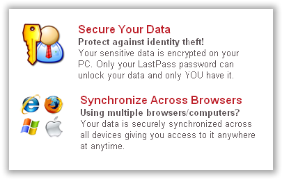 LastPass - Secure Data Sync