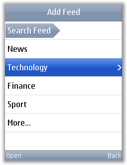 Upvise - Adding New RSS  feeds on Mobile