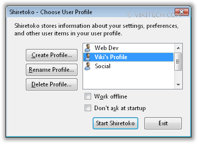 Firefox Profile Manager(0)