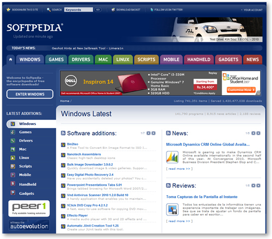 Softpedia Downloads