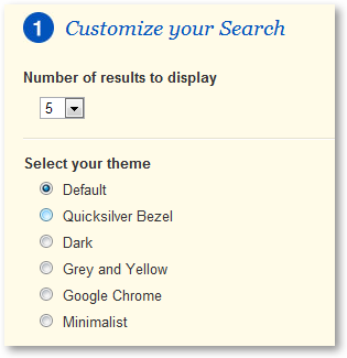 Customize SikBox Search