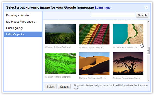 Add New Image To Google- © TechNorms