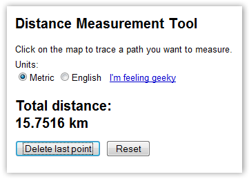 Better Estimate of Distance between 2 places - © TechNorms