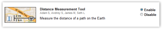 Enable Distance Measurement Tool Feature - © TechNorms