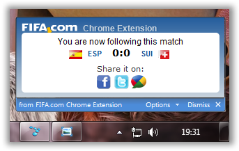 how to get notifications on chrome for hotmail