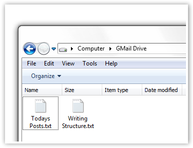 Files in your GDrive - © TechNorms