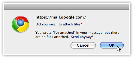 Gmail Attachment Reminder - © TechNorms
