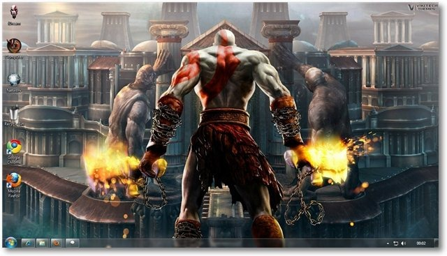 God Of War 01- © TechNorms