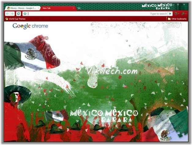 Football World Cup Google Chrome Themes For All Countries