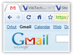 Pinned Gmail Tab - © TechNorms