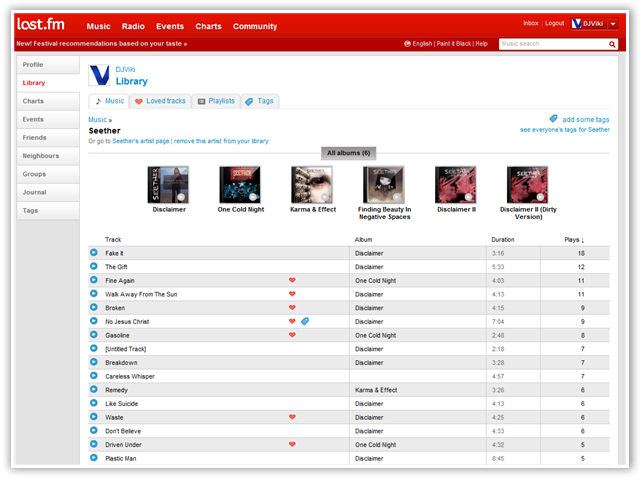 Add Music Player To Google Chrome With Last fm Music Player