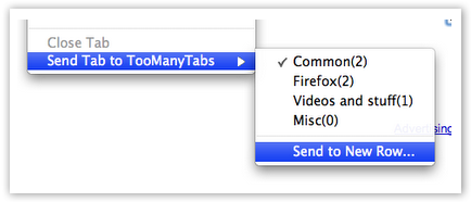 Too Many Tabs in Tab Context Menu - © TechNorms