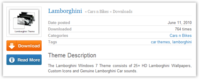 TechNorms Theme Download Page  - © TechNorms