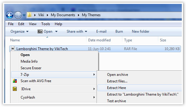 Compressed Theme File  - © TechNorms