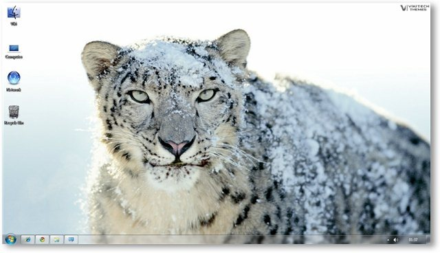 Apple Snow Leopard Wallpaper 04- © TechNorms