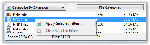 Apply File Type Filter- © TechNorms