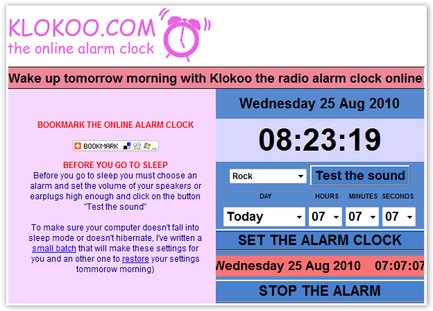 Klokoo Alarm Clock - © TechNorms