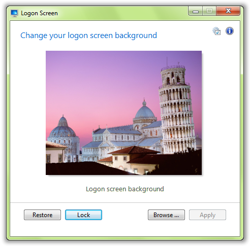 New Logon Screen Background - © TechNorms