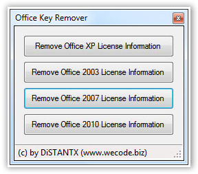 office 2003 change product key