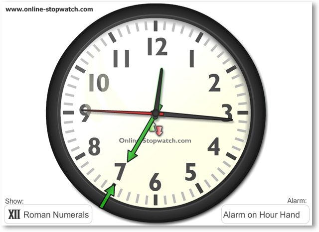 top 15 of the best online alarm clock websites. Black Bedroom Furniture Sets. Home Design Ideas