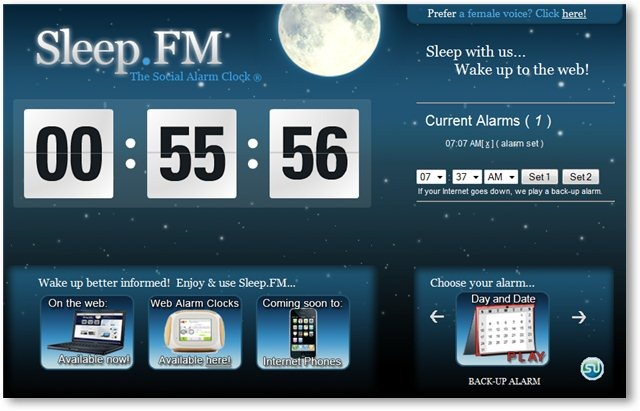 Sleep.fm - © TechNorms