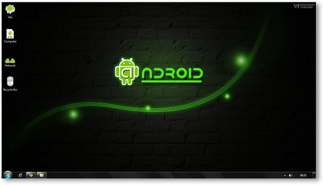 Android Theme For Windows 7 And Windows 8
