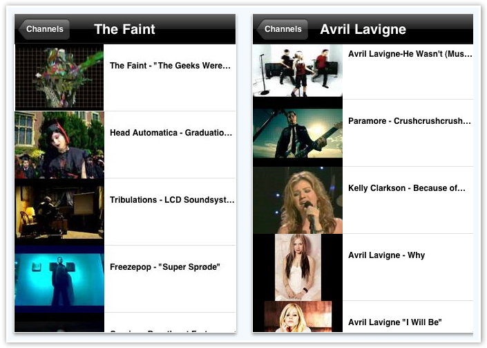 Anthem Music Videos - Videos For Listed Artist - © TechNorms