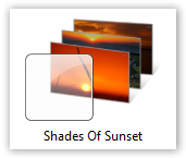Shades Of Sunset Theme - © TechNorms