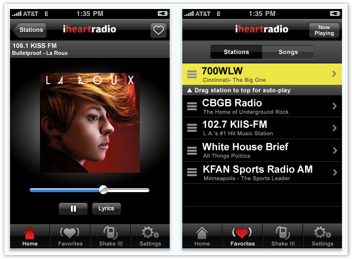 iHeart Music Radio Player- © TechNorms