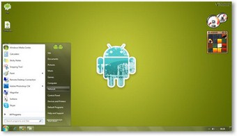 Android Windows 7 Theme