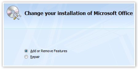 Change The Installation - © TechNorms
