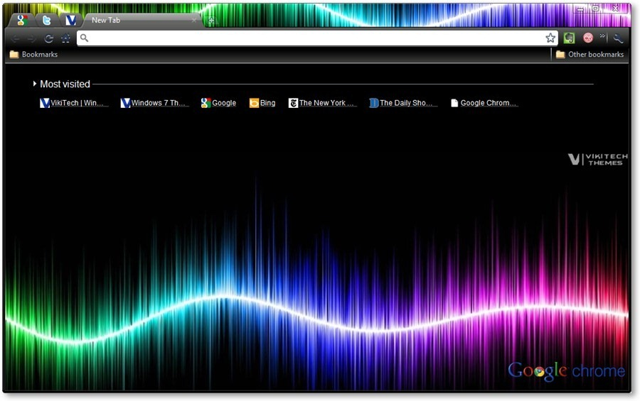 Google Chrome Themes The Dark Arts Abstract Art Themes
