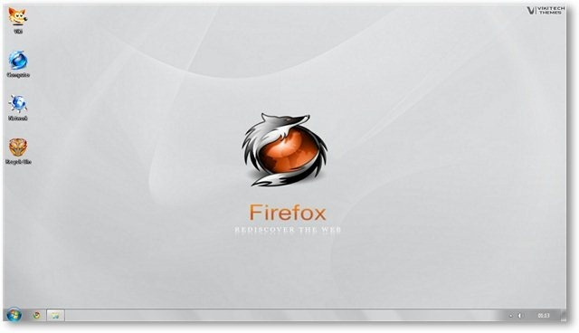Firefox Wallpaper 04 - © TechNorms
