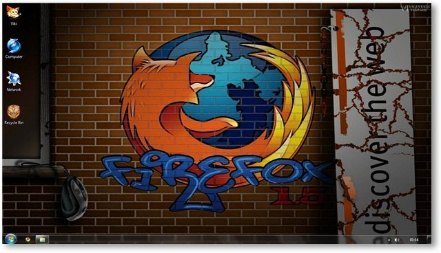 Firefox Wallpaper 14 - © TechNorms